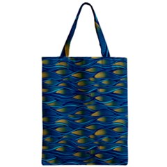 Blue Waves Classic Tote Bag