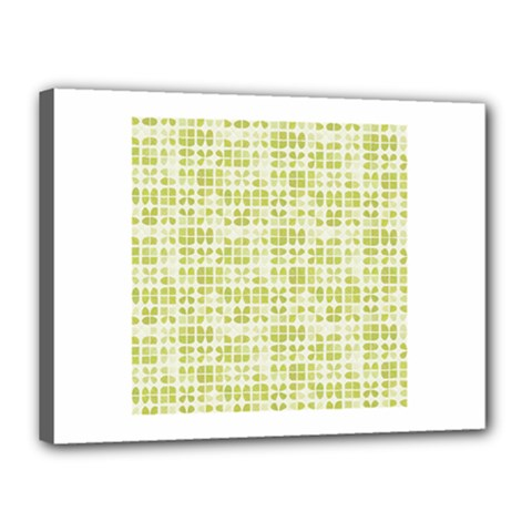 Pastel Green Canvas 16  X 12  by FunkyPatterns