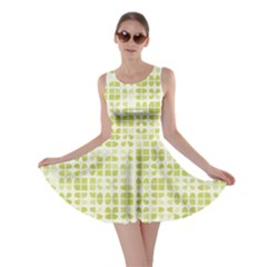 Pastel Green Skater Dress by FunkyPatterns