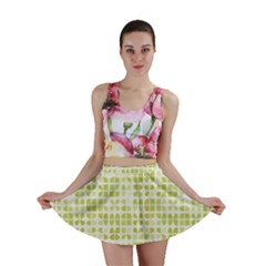 Pastel Green Mini Skirt by FunkyPatterns