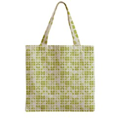 Pastel Green Grocery Tote Bag by FunkyPatterns
