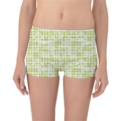 Pastel Green Reversible Boyleg Bikini Bottoms by FunkyPatterns