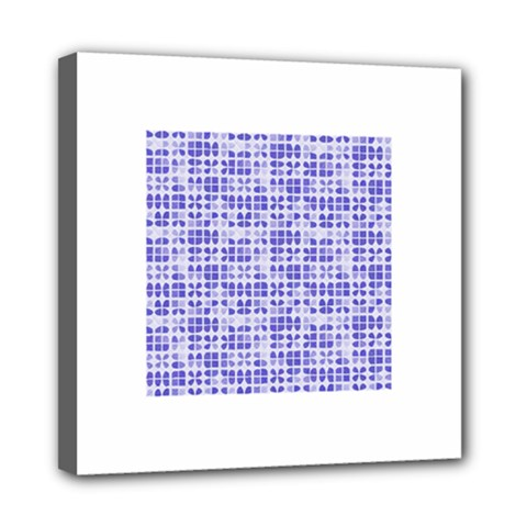 Pastel Purple Mini Canvas 8  X 8  by FunkyPatterns