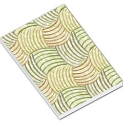 Pastel Sketch Large Memo Pads by FunkyPatterns