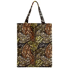 Whimsical Zipper Classic Tote Bag by FunkyPatterns