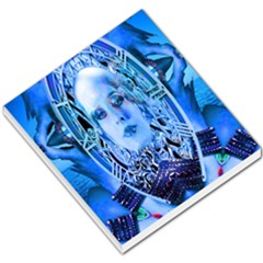 Clockwork Blue Small Memo Pads by icarusismartdesigns