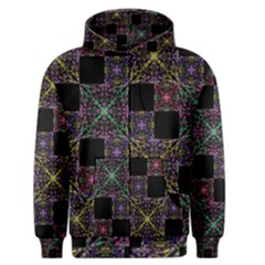 Ornate Boho Patchwork Men s Zipper Hoodie