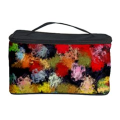 Colorful Brush Strokes                                             Cosmetic Storage Case by LalyLauraFLM