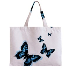 Butterflies Zipper Mini Tote Bag by TRENDYcouture
