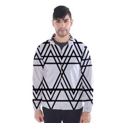 Triangles Wind Breaker (men) by TRENDYcouture