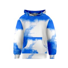 Blue Cloud Kids  Pullover Hoodie by TRENDYcouture