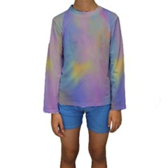 Mystic Sky Kid s Long Sleeve Swimwear by TRENDYcouture