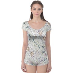 Oriental Floral Ornate Boyleg Leotard (ladies) by dflcprintsclothing