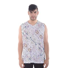 Oriental Floral Ornate Men s Basketball Tank Top by dflcprintsclothing