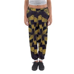 Bold Geometric Women s Jogger Sweatpants by dflcprintsclothing