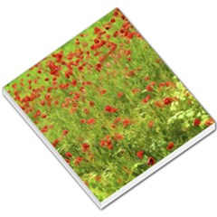 Poppy Vii Small Memo Pads by colorfulartwork