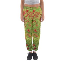 Poppy Vii Women s Jogger Sweatpants by colorfulartwork