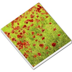 Poppy Viii Small Memo Pads by colorfulartwork