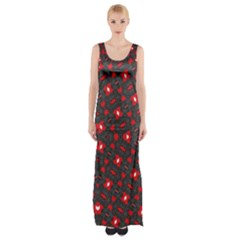 True Us Maxi Thigh Split Dress by MRTACPANS