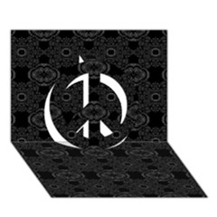 Powder Magic Peace Sign 3d Greeting Card (7x5)  by MRTACPANS