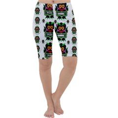 Monster Trolls In Fashion Shorts Cropped Leggings  by pepitasart