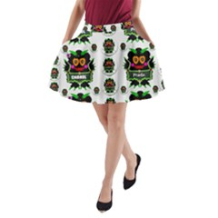 Monster Trolls In Fashion Shorts A-line Pocket Skirt
