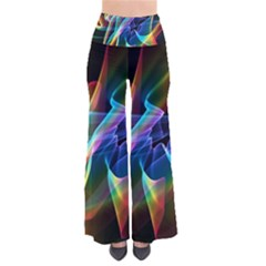Aurora Ribbons, Abstract Rainbow Veils  Pants by DianeClancy