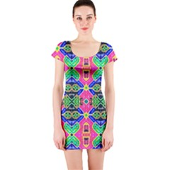Private Personals Short Sleeve Bodycon Dress by MRTACPANS