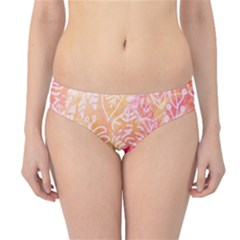 Sunny Floral Watercolor Hipster Bikini Bottoms by KirstenStar