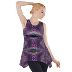 Time Space Side Drop Tank Tunic