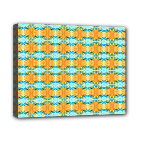 Dragonflies Summer Pattern Canvas 10  X 8  by Costasonlineshop