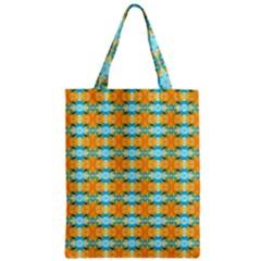 Dragonflies Summer Pattern Zipper Classic Tote Bag by Costasonlineshop