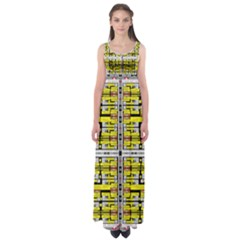 Vaccine Empire Waist Maxi Dress