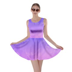 Ombre Purple Pink Skater Dress by BrightVibesDesign