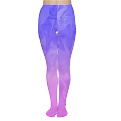 Ombre Purple Pink Women s Tights by BrightVibesDesign