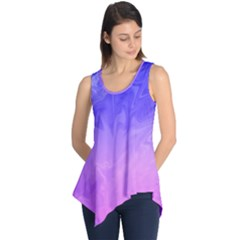 Ombre Purple Pink Sleeveless Tunic by BrightVibesDesign