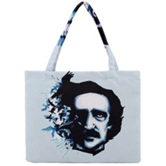Edgar Allan Poe Crows Mini Tote Bag by lvbart