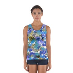 Mixed Brushes                                                           Women s Sport Tank Top by LalyLauraFLM