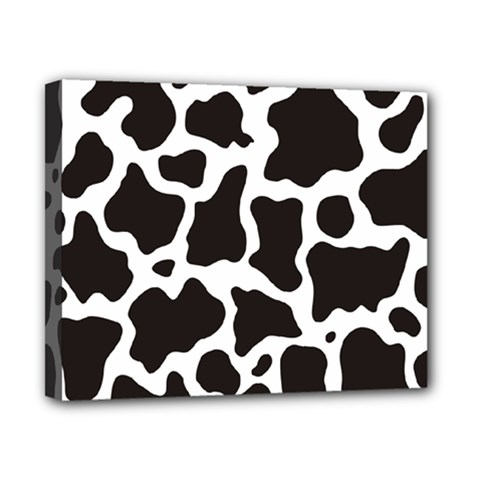 Cow Pattern Canvas 10  X 8  by sifis