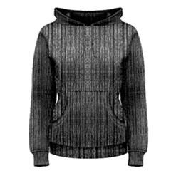 Dark Grunge Texture Women s Pullover Hoodie by dflcprintsclothing