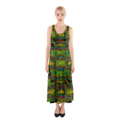 Paint Bricks                                                                 Full Print Maxi Dress by LalyLauraFLM