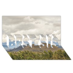 Ecuadorian Landscape At Chimborazo Province Best Sis 3d Greeting Card (8x4)  by dflcprints