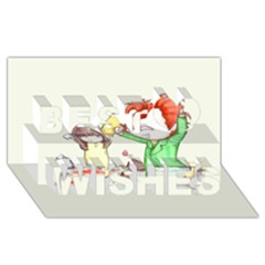 Mud Pies  Best Wish 3d Greeting Card (8x4)