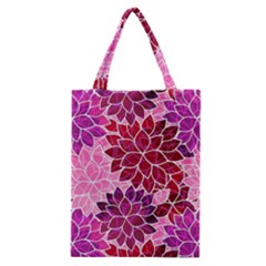 Rose Quartz Flowers Classic Tote Bag by KirstenStar