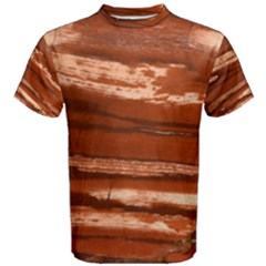 Red Earth Masculine Men s Cotton Tee by UniqueCre8ion