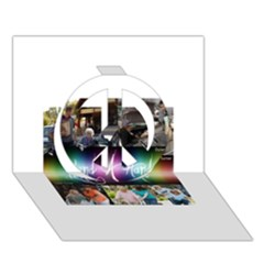 13439220 1341966305818308 1943776824535577747 N Peace Sign 3d Greeting Card (7x5)