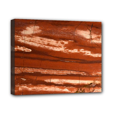 Red Earth Natural Canvas 10  X 8  by UniqueCre8ion