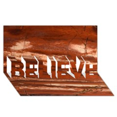 Red Earth Natural Believe 3d Greeting Card (8x4)  by UniqueCre8ion