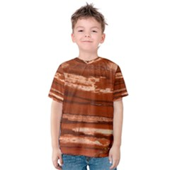 Red Earth Natural Kid s Cotton Tee by UniqueCre8ion