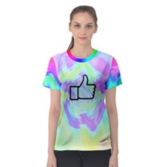 Like Watercolour? Women s Sport Mesh Tee by Contest2278436